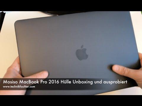 Mosiso MacBook Pro 2016 Hülle Unboxing und ausprobiert