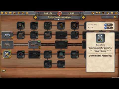 Railway Empire  - Patchwork Scenario (Germany DLC) - Part One