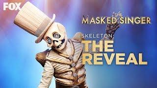 The Skeleton Is Revealed As Paul Shaffer | Season 2 Ep. 4 | THE MASKED SINGER