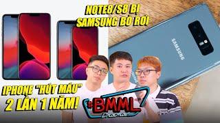 #BMML - Note8 cả 1000$ vẫn bị bỏ rơi, Apple học theo Samsung 1 năm 2 dòng iPhone?