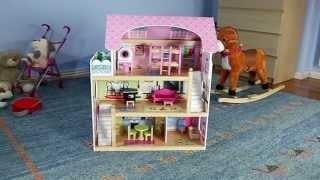 """Большой игровой кукольный домик 4110 Fairy + 4 куклы від компанії Интернет магазин """"Дом-сад"""" - відео"""