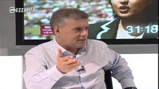 Ο κ. Κώστας Αγοραστός μιλάει στο Θεσσαλία tv για τα έργα της Περιφέρειας Θεσσαλίας 15/5/2014
