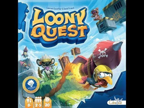 Loony Quest - A Forensic Gameology Review
