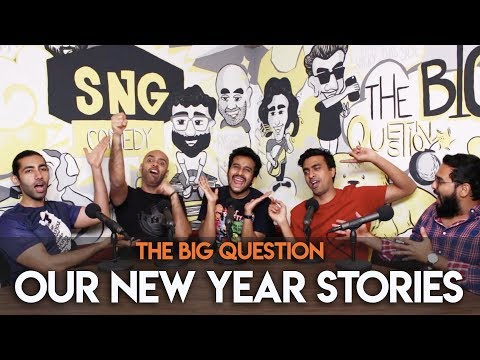 SnG: Our New Year Stories feat. Sahil Shah | The Big Question S2 Ep23