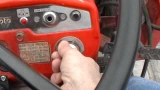 Kubota diesel -4*F Cold Start