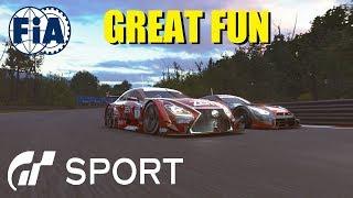 GT Sport Great Fun - FIA Nations Round 8 Top Split