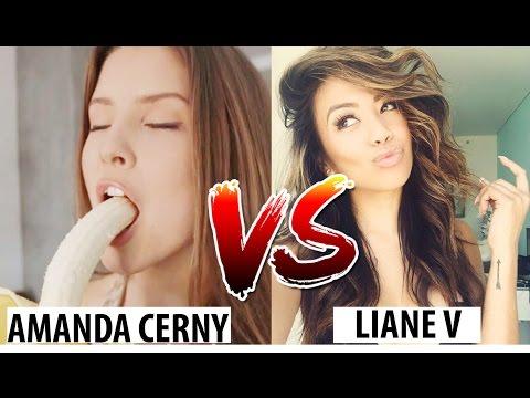 Amanda Cerny VS Liane V funny video compilation - Vine Worldlaugh✔