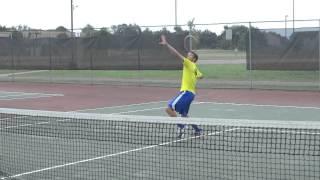 Jake Pukys Tennis Skills Video