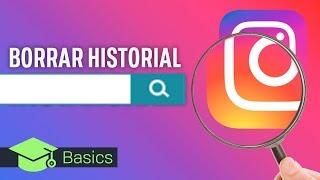 Como BORRAR HISTORIAL de búsqueda en INSTAGRAM | XTK Basics