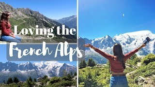 FALLING IN LOVE WITH THE FRENCH ALPS | Travel Vlogs