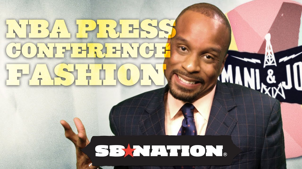 NBA Press Conference Fashion? Not Feeling It - Bomani & Jones, Episode 22 thumbnail