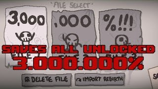 Descargar TBOI: Afterbirth+ PLUS Update 22 + Saves All Unlocked 3.000.000% + Daily Run + MODs