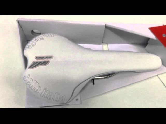 Видео Седло Selle Italia Flite L1 (Ti 316) черное