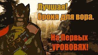 Skyrim SE - TOP броня для вора на 1-ом Уровне!