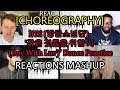 [CHOREOGRAPHY] BTS (방탄소년단) '작은 것들을 위한 시 (Boy With Luv)' Dance Practice - REACTION MASHUP
