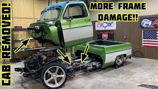 Rebuilding Gas Monkey Garage Wrecked 1976 Chevy C10 Part 3