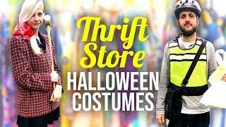 Thrift Store Halloween Costume Challenge - Couples Edition! - HGTV Handmade