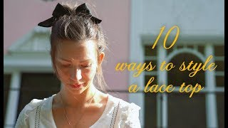 10 Easy Lace Top Outfits (trying To Channel My Inner French Woman)