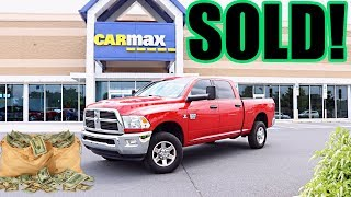 I took my Cummins to CarMax: This is the cash they offered me