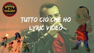 883: Tutto ciò che ho (Lyric Video)