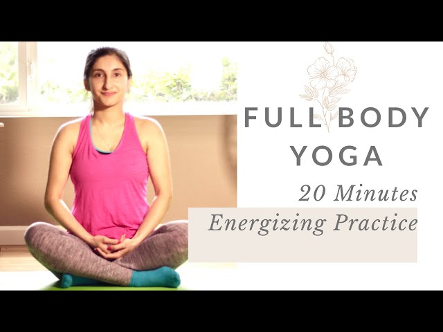 20 minutes Energy Yoga, Full Body Yoga with Karishma, Yoga and Meditation Practice at Home