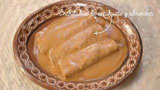 Tu cocina - Enchiladas de cacahuate y almendras