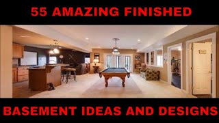 Basement Designs, Finished Basement Ideas
