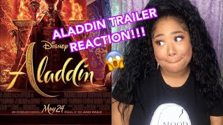 025: REACTION To The New ALADDIN Trailer!!
