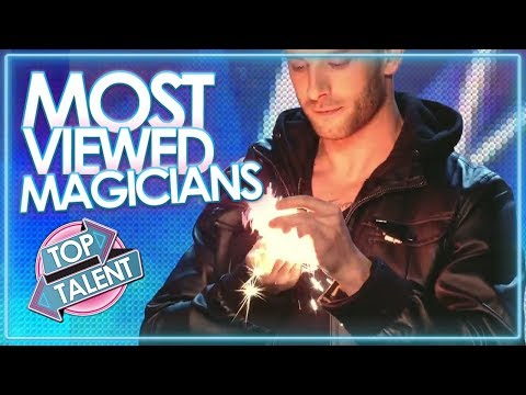 MOST Viewed Magician Auditions EVER on GOT TALENT | Top Talent (видео)