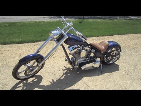 2002 Rolling Thunder Custom Chopper Walk Around tour by Automotive Review