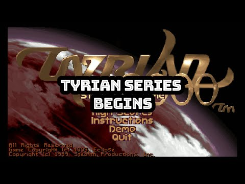 Old Games - Tyrian 2000 / #1 Beginning / PC Gameplay 1080p