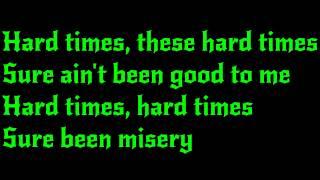 AC/DC - Hard Times Lyrics (HD)
