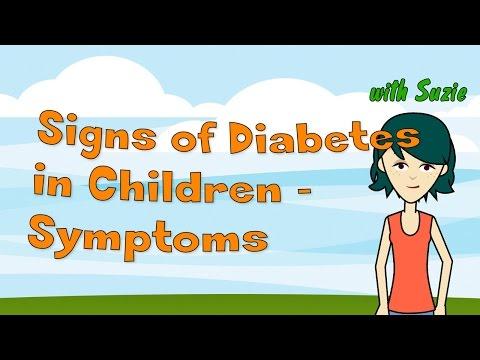 Baby von einer Frau mit Diabetes