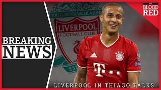BREAKING: Liverpool in Thiago Alcantara Talks | £27m Transfer Close