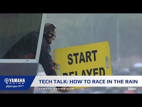 Tech Talk: How to race in the rain