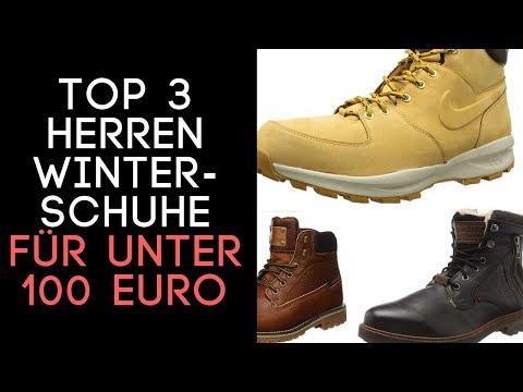 Winterschuhe Herren/ Winterschuhe Männer/ Herren Boots  unter 100 Euro Top 3! auf Amazon /   In 2018