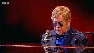 Elton John to George Michael Sept 2016