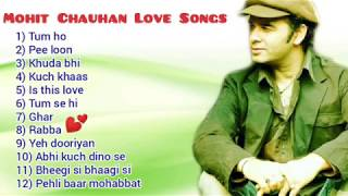 Mohit Chauhan Love Songs Jukebox 2020❤️