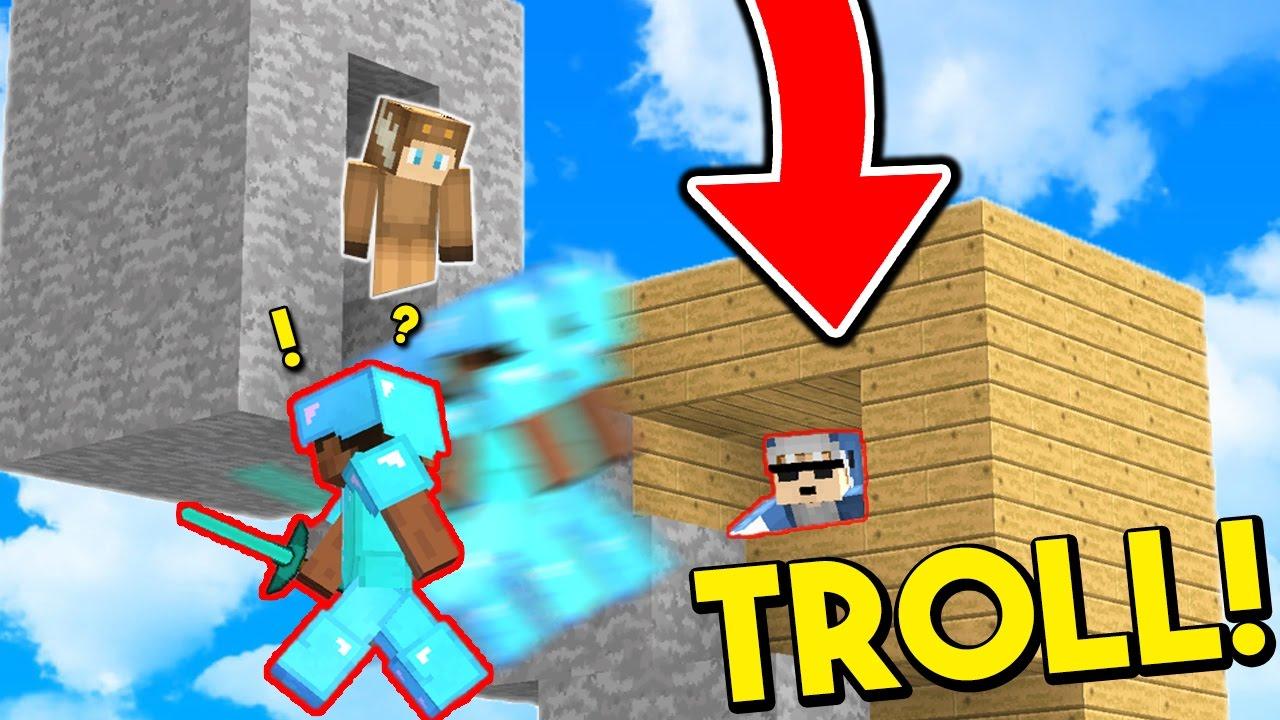 THE NEW VIRAL MINECRAFT SKYWARS CHALLENGE!! (Minecraft