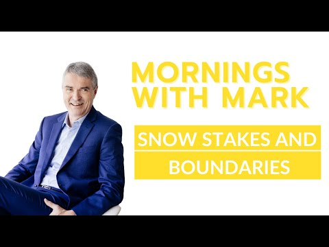 Snow Stakes and Your Boundaries in Life