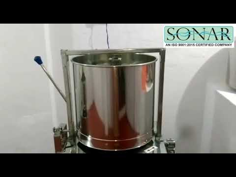 Sonar Dryer Tilting with Complete SS Machine