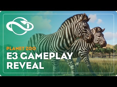 Planet Zoo   E3 Gameplay Demo
