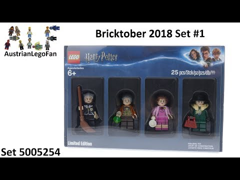 Vidéo LEGO Objets divers 5005254 : Bricktober 2018 LEGO Harry Potter [Exclusive Minifigures Toys'R'Us]