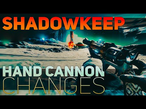 Shadowkeep Hand Cannon Changes (Bloom, Effective Range, & Recoil) | Destiny 2 Shadowkeep