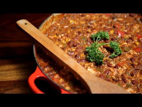 Vegetarian Chilli   Easy To Make Vegan Recipe   Divine Taste With Anushruti