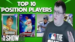 Top 10 Position Players MLB The Show 20 Diamond Dynasty