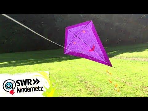 DIY-Tipp: Drachen basteln   SWR Kindernetz