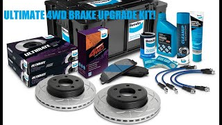 Toyota Hilux Brake Upgrade