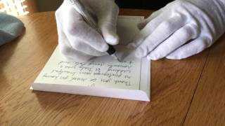 Writing Thank You Cards to My Wisconsin Wedding Couples