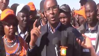 Un-Aired Exclusive: Narok Mp-Ole Moitalel sends a warning to Narok Governor and Jubilee government